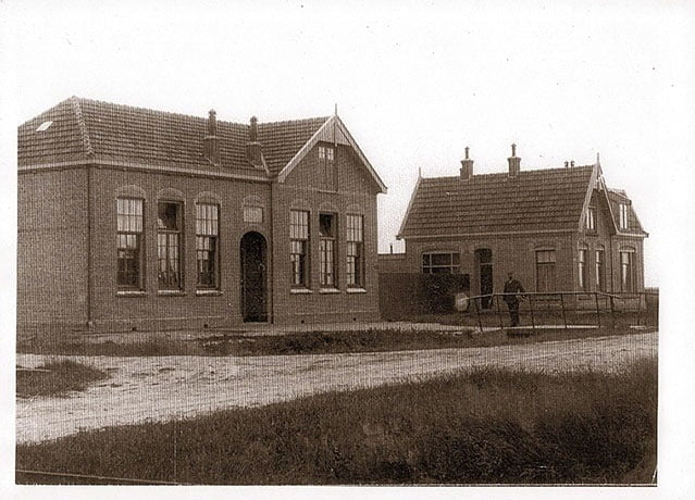 De school in Zuid-Eierland